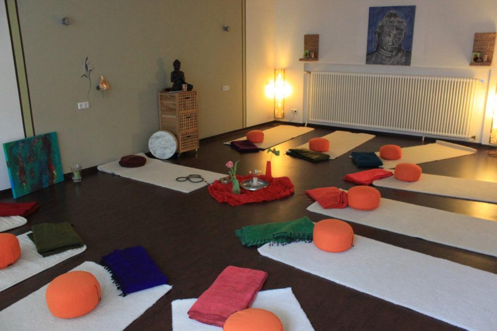 Yogaraum Gestalten wellenlänge